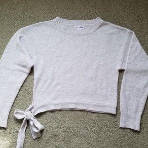 NWOT Cute Shrinking Violet Sweater